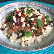 Barbacoa Beef with Corn Salsa